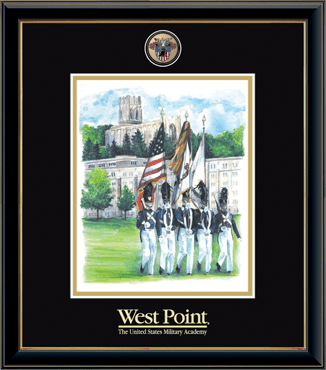 Masterpiece Medallion Color Guard Litho Frame in Onexa Gold