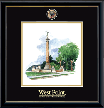 Masterpiece Medallion Monument Litho Frame in Onexa Gold