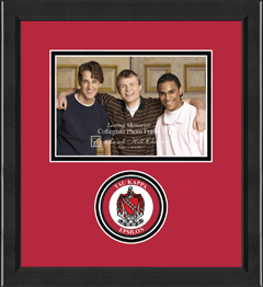 "5"" x 7"" - Lasting Memories Circle Logo Photo Frame in Arena"