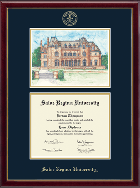Overly Campus Scene Edition Diploma Frame in Galleria