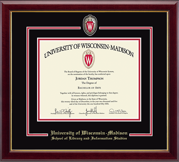 Spirit Shield Curriculum Edition Diploma Frame in Gallery