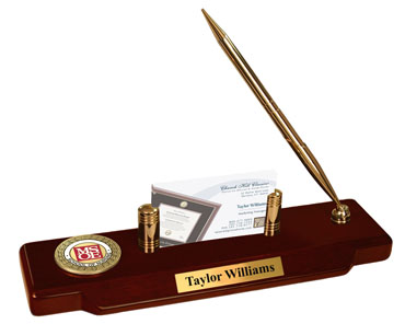 Nursing Seal Masterpiece Medallion Desk Pen Set