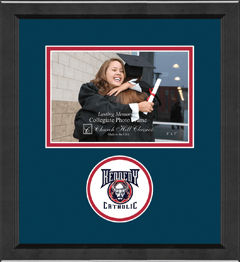 "5""x7"" - Lasting Memories Circle Logo Photo Frame in Arena"