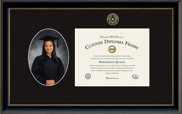 Photo and Diploma Frame in Onexa Gold
