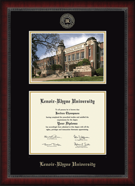 Campus Scene Edition Diploma Frame in Sutton