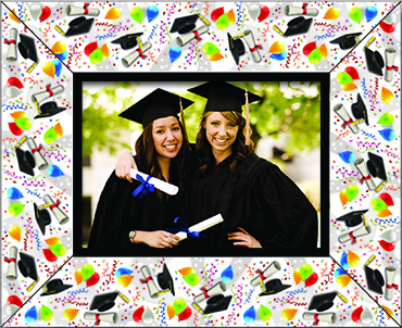 Grad Logo Photo Frame