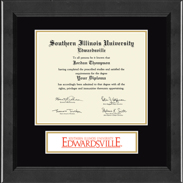 Banner Edition Diploma Frame in Arena
