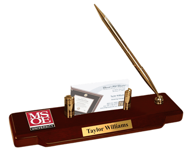MSOE Masterpiece Medallion Desk Pen Set