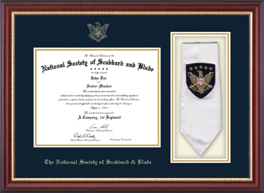 Sash Edition Certificate Frame in Newport
