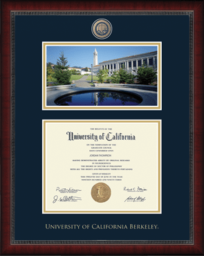 Campus Scene Edition Masterpiece Diploma Frame in Sutton