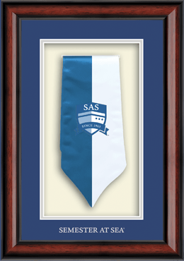 Commemorative Sash Shadow Box Frame in Southport