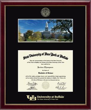South Campus Scene Diploma Frame in Galleria