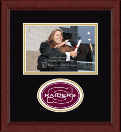"4""x6"" - Lasting Memories Raiders Circle Logo Photo Frame in Sierra"