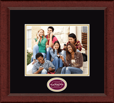 "8""x10""- Lasting Memories Raiders Circle Logo Photo Frame in Sierra"