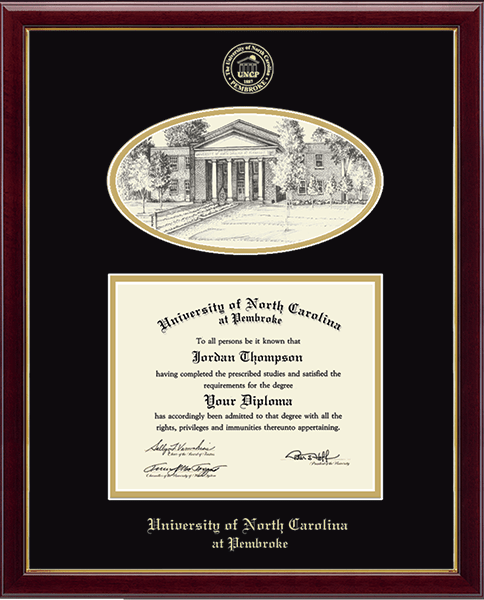 Lithograph Edition Diploma Frame in Galleria