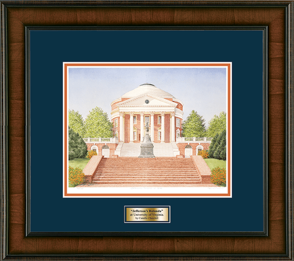 Framed Lithograph in Madison