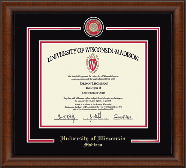 Showcase Edition Diploma Frame in Austin