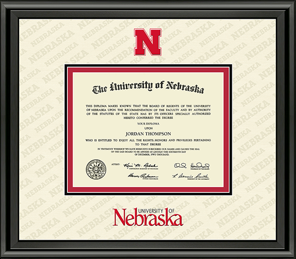 Dimensions Plus Diploma Frame in Midnight