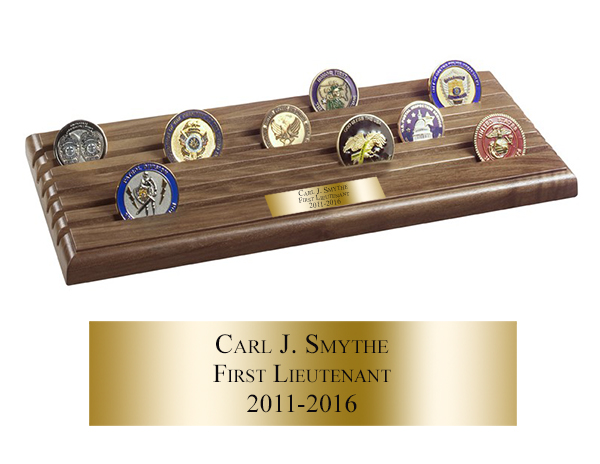 Shell Casing Coin Rack - 6 Rows