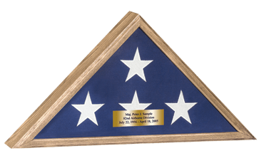 Memorial Honors Flag Case